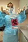 Lab Worker H1N1
