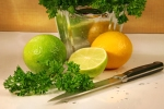 Parsley and citrus fruit Sandra Cunningham Dreamstime