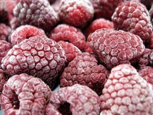 red raspberries frozen antioxidants