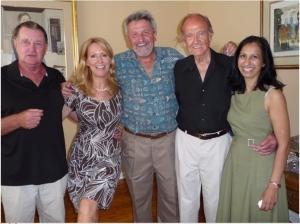 Senator George McGovern's 88th birthday party