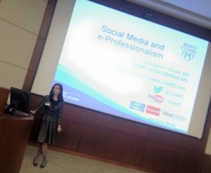 Mayo Clinic Florida Grand Rounds: Healthcare Social Media and eProfessionlism