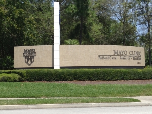 Entrance to Mayo Clinic Florida